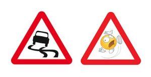 slippery-road